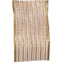 Berisfords metallic look Jazz mesh ribbon