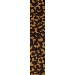 Gold Leopard Print Ribbon