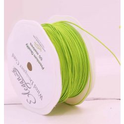 Green Wired Craft Cord