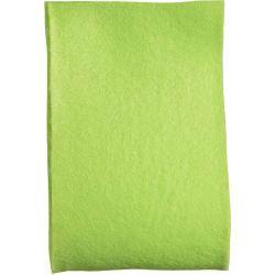 Green Felt Ribbon In A 50mm Width