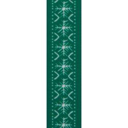 Scandi Flake by Berisfords in Green - 25mm x 25m