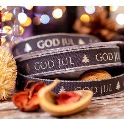 God Jul ( Merry Christmas In Swedish) 15mm x 15m