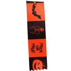 Classic Orange Halloween Ribbon 25mm x 20m