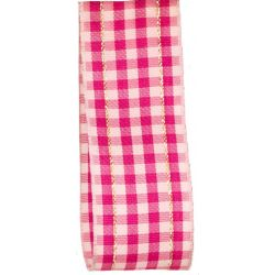 Shocking Pink Gingham Ribbon