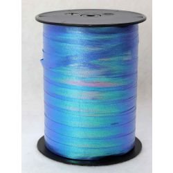 8mm Blue iridescent Curling Ribbon x 250m
