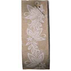 Rustic Lace Design Taffeta Ribbon By Berisfords Ribbons
