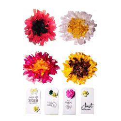 Letter Box Mini Ribbon Floral Wreath Kits
