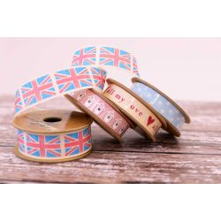 Four Reels Of Natural Charms Ribbons