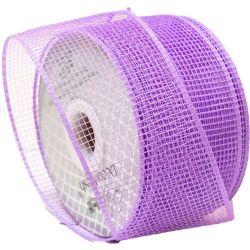 Lilac Deco Mesh Ribbon