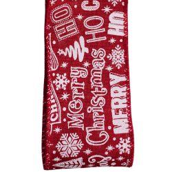 Merry Christmas Festive Ribbon