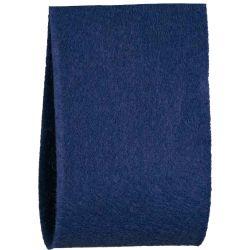 Navy Blue Felt Ribbon In A 50mm Width