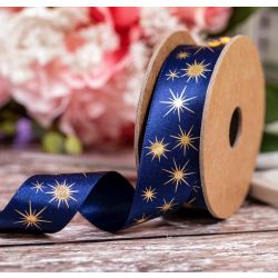 25mm x 4m Star Gaze Ribbon By Berisfords Ribbons