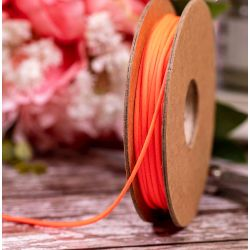 2mm neon pink twine by Berisfords Ribbons