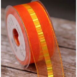 Orange Princess Ribbon 40mm x 20m