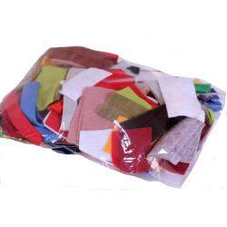 Bag of felt pieces