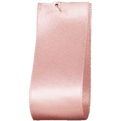 Newlife Double Satin Ribbon 100% Recycled Plastic: Pale Pink (Col 70) - 3mm - 70mm widths