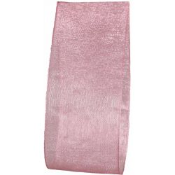Pink Sheer Ribbon In 38mm Width