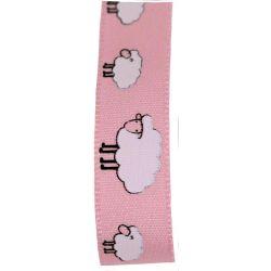 pink sheep ribbon