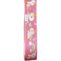 Pink Unicorn Ribbon