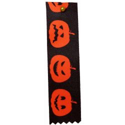 Orange Pumpkin Halloween Ribbon 25mm x 20m