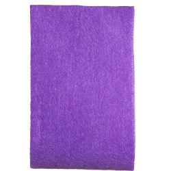 Purple felt ribbon in a 50mm width