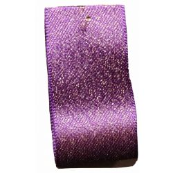 Glitter Satin Ribbon Col: Liberty - available in 15mm & 25mm widths