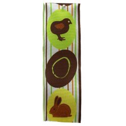 40mm x 25m Hen, Rabbit and Easter Egg Ribbon