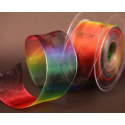 Rainbow Flow Ribbon 40mm x 20m