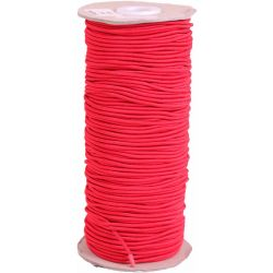 Red 3mm round cord elastic