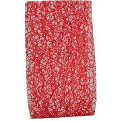 Red Web Ribbon 50mm x 20m
