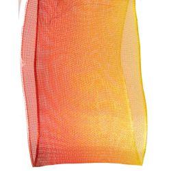 yellow and orange varigated sheer ribbon
