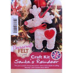 Felt Reindeer Kit