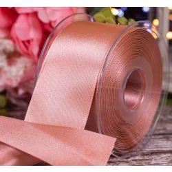 50mm x 20m Rose Gold Berisfords Double Satin Ribbon