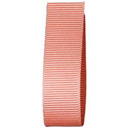 Grosgrain Ribbon 16mm x 20m Colour Rose Gold 9792