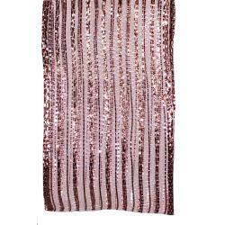 Rose gold jazz mesh ribbon by Berisfords Ribbons