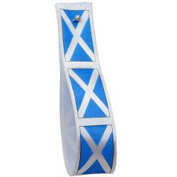 Scottish Flag Ribbons 25mm x 20m