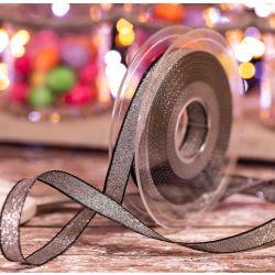 25mm lilac and copper razzle ribbon