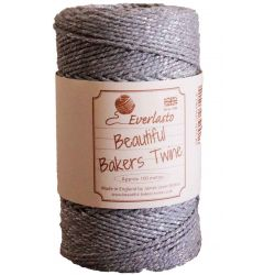 2mm silver bakers twine