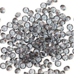 6mm Diamond Shaped Faceted Beads In Smoked Quartz