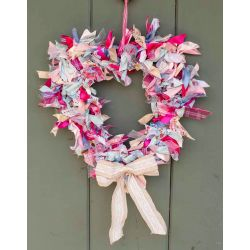 Summer Heart Shaped Wreath kit