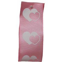 Dual Heart Ribbon 40mm x 25m