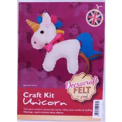 Unicorn Felt Kit
