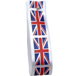 Union Jack Flag Ribbon 25mm x 20m