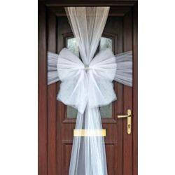 White Christmas Door Bow