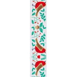 White Robin ribbon