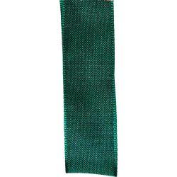 25mm Christmas green Wired Edged Taffeta Ribbon By Shindo Ribbons
