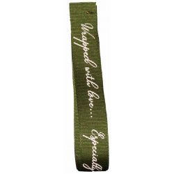 Wrapped With Love Ribbon 16mm col: Green