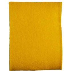 Yellow Felt Ribbon In A 50mm Width