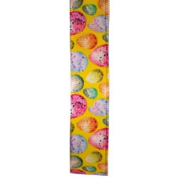 16mm yellow Easter egg ribbon
