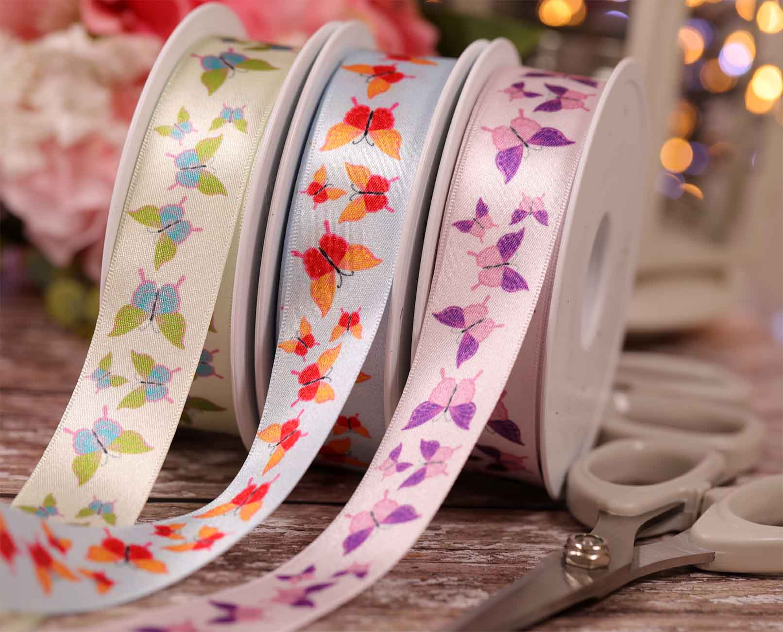 Exclusive Butterly Ribbons